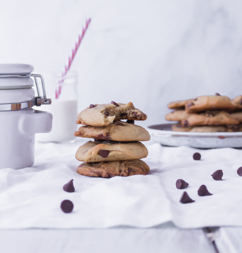 Easiest Chocolate Chip Cookies by Katiebird Bakes