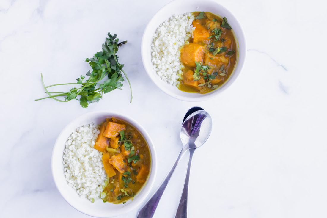 sweet potato and apple curry